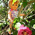Un petit débardeur pour Lucy - explications tricot d'un débardeur pour <b>poupées</b> <b>Modes</b> et <b>travaux</b>