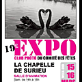 Exposition photos à la chapelle de surieu dans l'isere ce week-end, 15 & 16 mars...