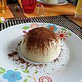 Dôme mousse au chocolat et croustillant <b>pralinoise</b>!