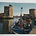 La Rochelle arrivée des sardiniers datée 1968