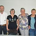 Les membres du Bureau ( Année 2011/2012)