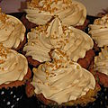 Cupcakes au caramel beurre salé