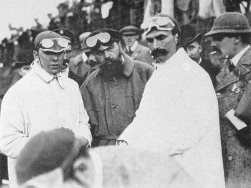 1903 gordon bennett trophy, athy, northern ireland - charles jarrott (napier) acc1, rené de knyff (panhard) 2nd, selwyn francis edge (napier) dq push start