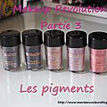Makeup revolution partie 3:les pigments.