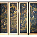 Exceptionally rare 18th century chinese screen comes to auction at sworders in essex