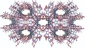 metal organic framework-hybride metal organique