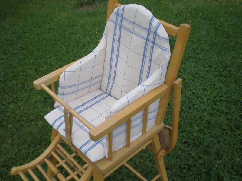 Housse de coussin pour chaise haute