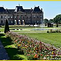 Les jardins du château de (54) lunéville