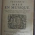 Jean-Baptiste Lully (1632 - 1687) - Partition générale d'<b>Armide</b> - 1686