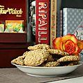 Biscuits aux flocons d'avoine / origines du tea time