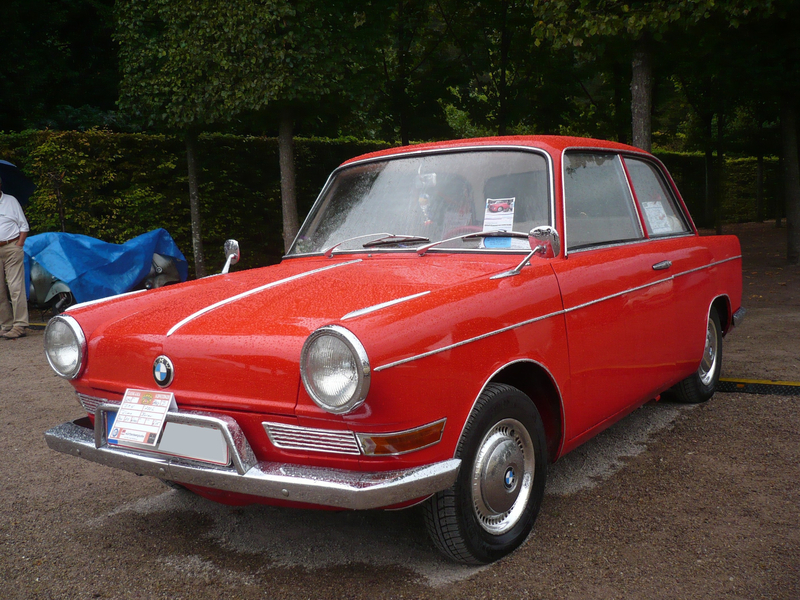 BMW 700L berline 1960 Schwetzingen (1)