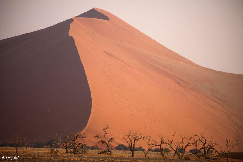 courbe du namib