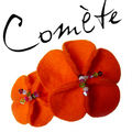 Comète_Broche orange2