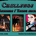 Inscription au challenge jeunesse / young adult [maj le 03/02]