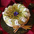 Paradis citronné ( tarte nuage au citron vert )