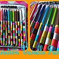 étui à crayons de couleurs Livio 1