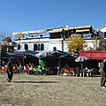 la place centrale de Chefchaouen