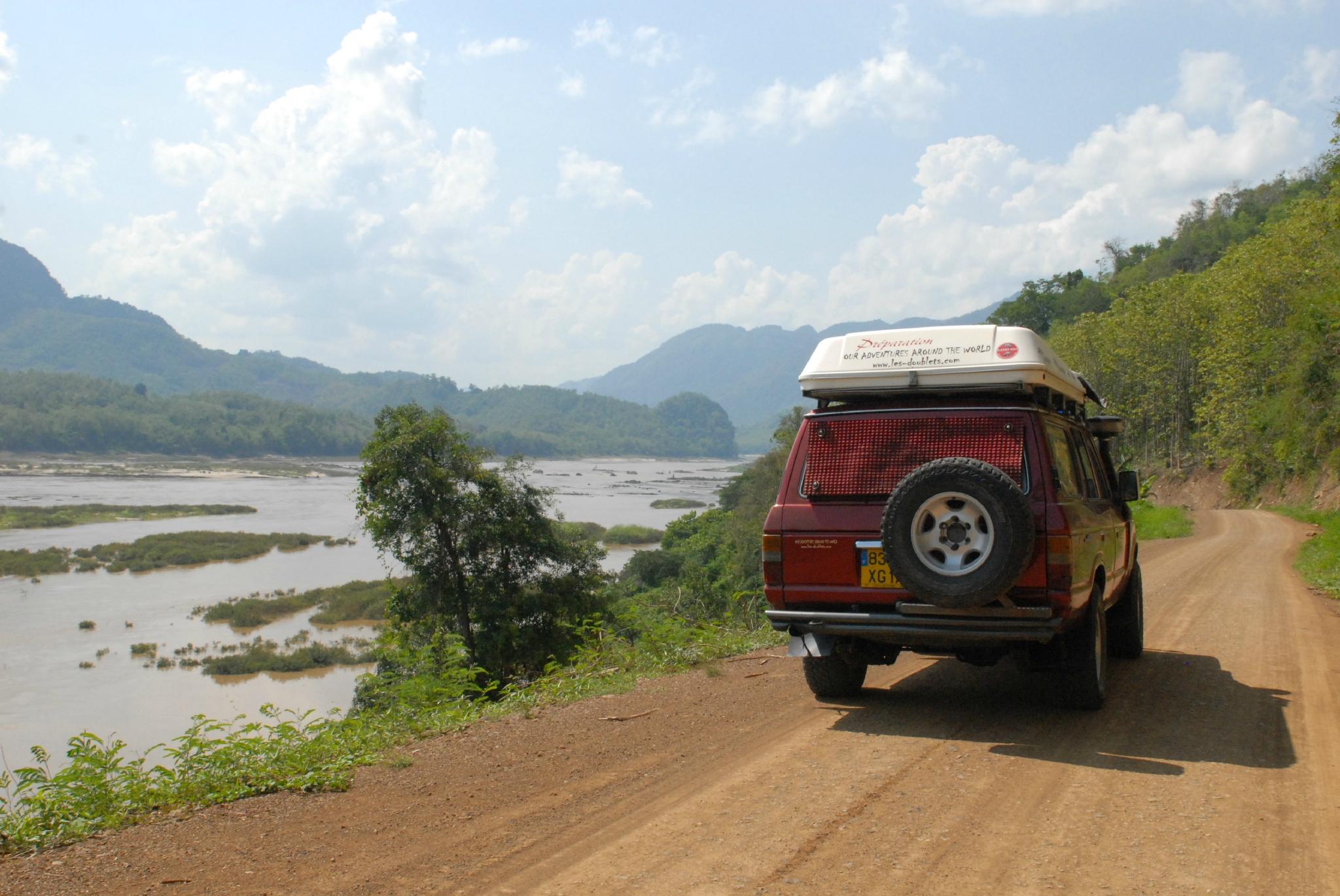 piste région de Louang Prahan