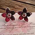 Stella, boucles 8€ VENDUES