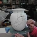 Decoration sur ceramique