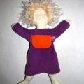 Une poupée chiffon sous le sapin...