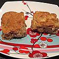 Gateau crousti moelleux pommes noix et canelle