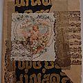 carte postale esprit vintage angelot
