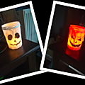 Photophore d'Halloween