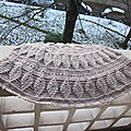 Embossed Leaves <b>Poncho</b>...