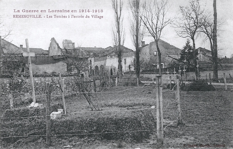 Remenoville, tombes militaires