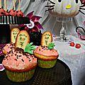 cupcakes <b>cerises</b> amarena