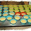 Cup cakes citron et noix de coco