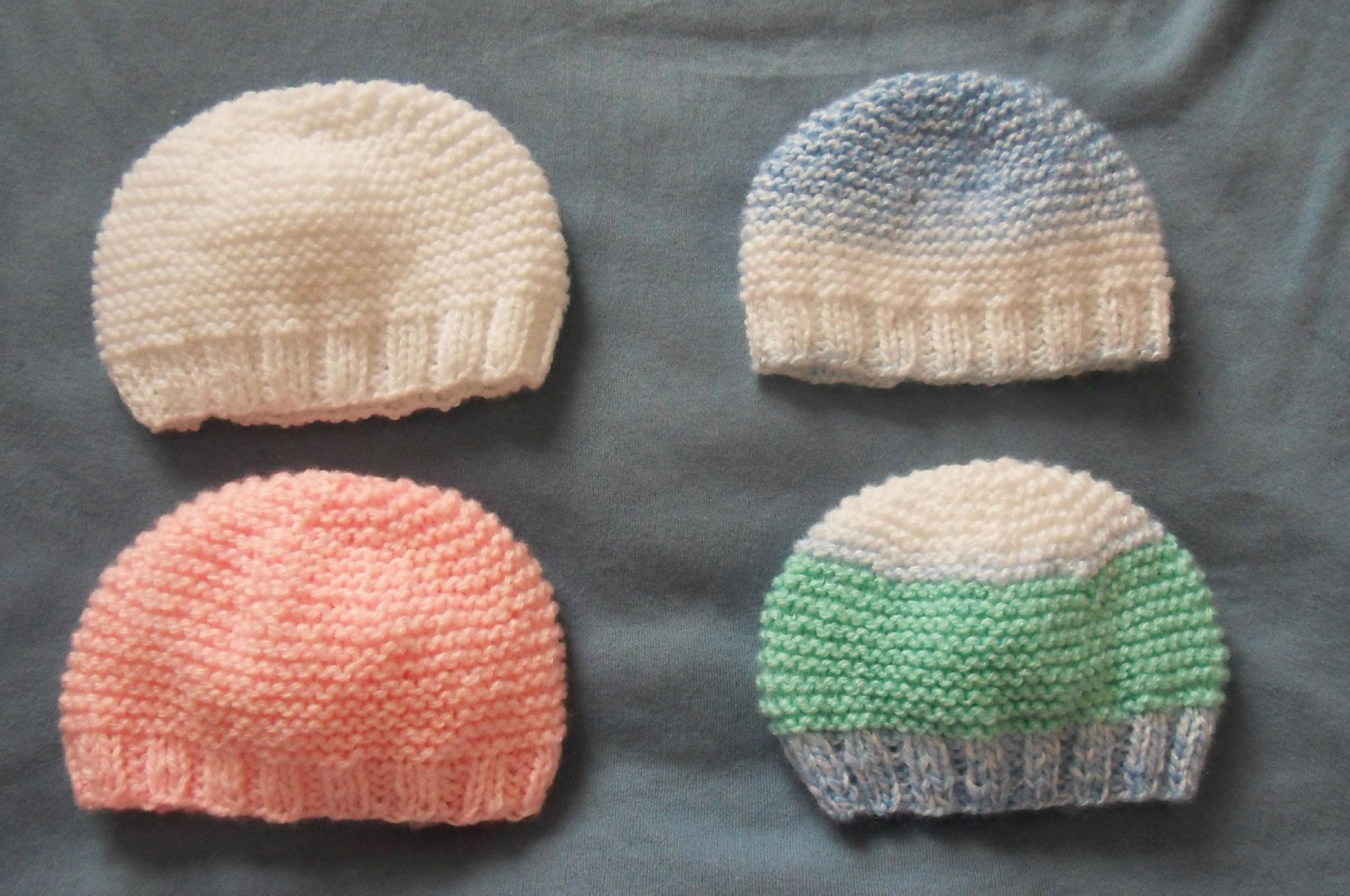 bonnets 30-32 sem bébés anges