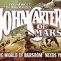 Le <b>jeu</b> de <b>rôle</b> #JohnCarter c'est parti, enfin !! #Kickstarter