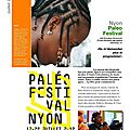 Paelo festival, nyon. «ne me demandez plus le programme!»