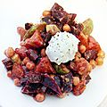 Salade d'hiver rouge - moelleuse