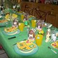 Notre table de pâques :