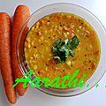 Carrot Kootu - Carrot <b>Dal</b> Curry