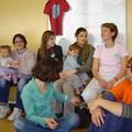 Des spectactrices et des enfants
