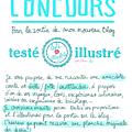<b>CONCOURS</b> : testé et illustré