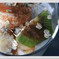 Salade sofia ou salade légère au yaourt et aux fruits.