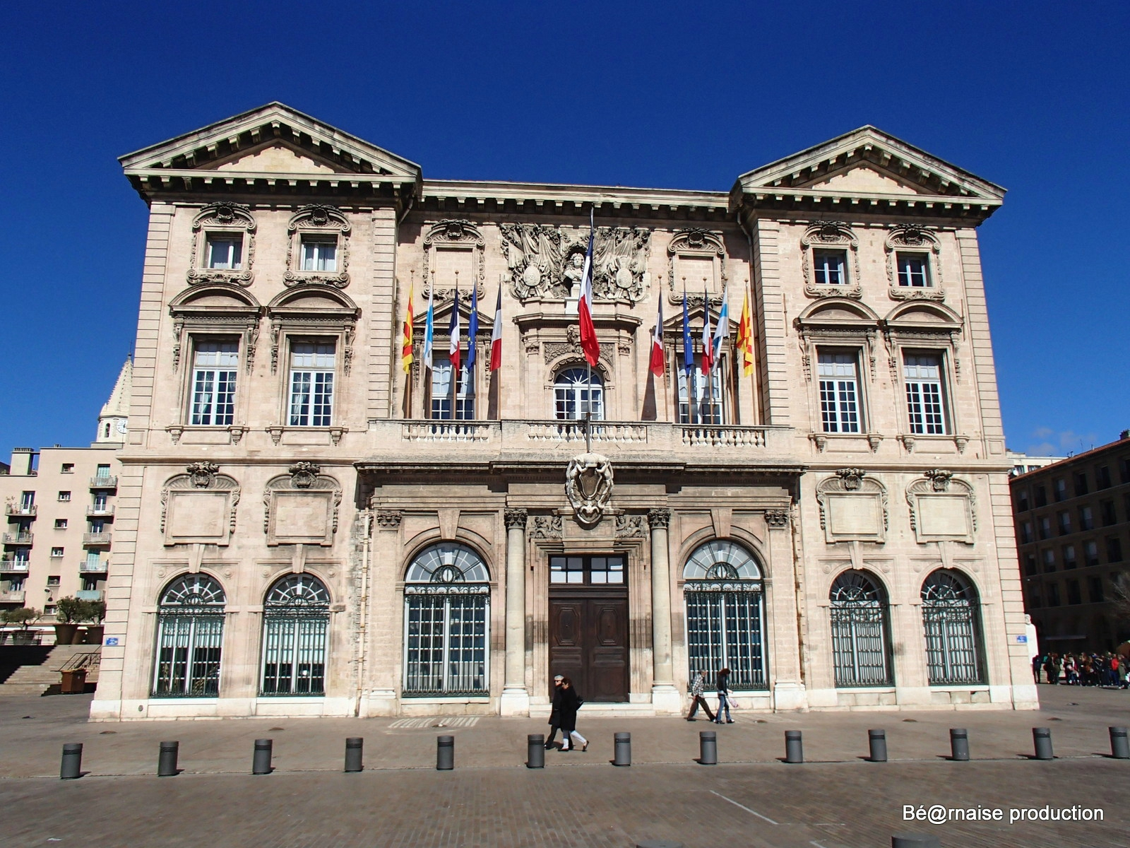 Mairie marseillaise (Marseille, mars 2016)