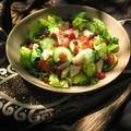 Salade à la grenade
