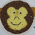 Gâteau singe