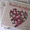 Livre fleurs de ruban - editions didier carpentier