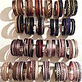 Les bracelets cuir manchettes hiver 2015-16