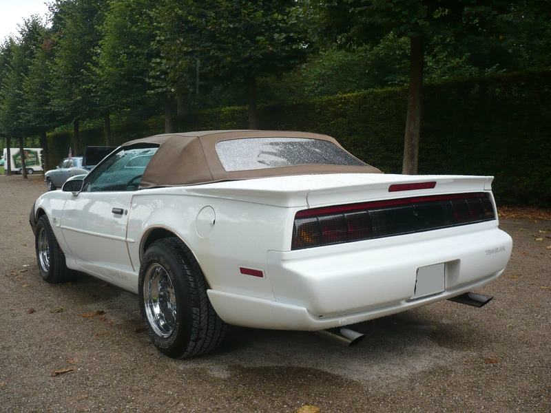 PONTIAC Firebird GTA Trans Am 2door convertible Schwetzingen (2)