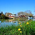 Canal de Garonne, Canal de Montech, Tarn, Aveyron, Tescou, Agout