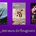 Mon inscription et billet de suivi au challenge littérature de l'imaginaire 3ème édition