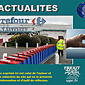Carrefour supprime 2.400 postes :